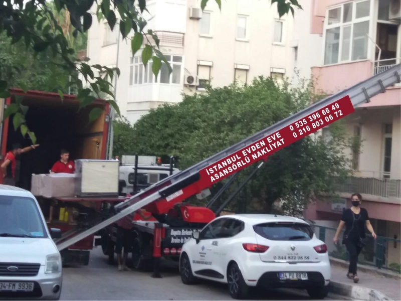 Çekmeköy Asansörlü Evden Eve Nakliyat