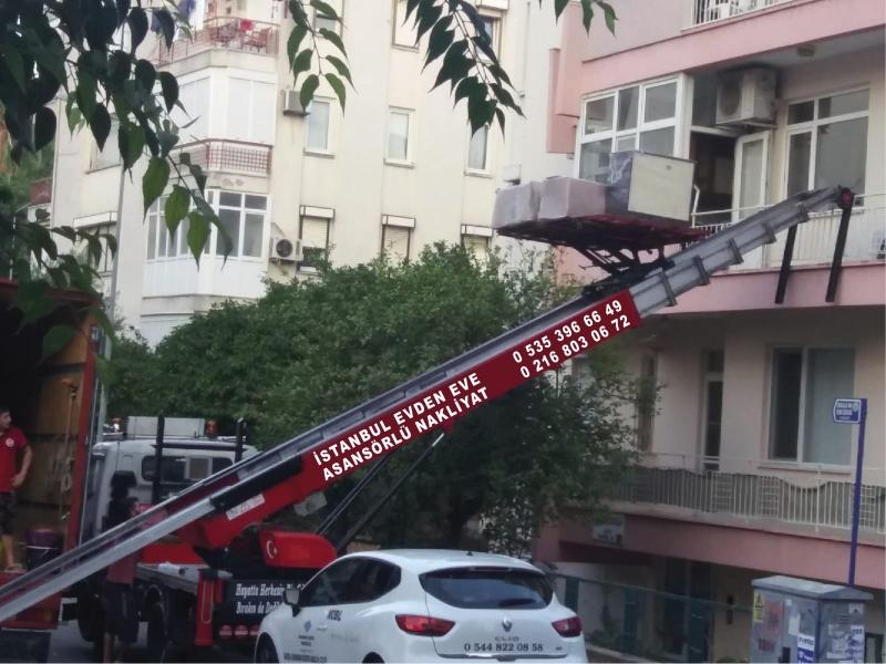 Kadıköy Asansörlü  Evden Eve Nakliyat